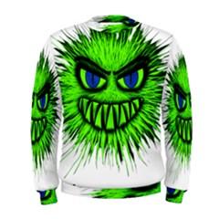 Monster Green Evil Common Men s Sweatshirt