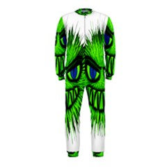 Monster Green Evil Common OnePiece Jumpsuit (Kids)
