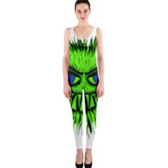 Monster Green Evil Common OnePiece Catsuit