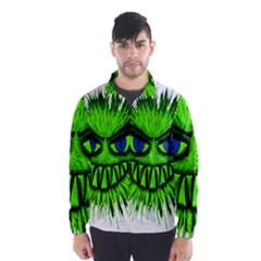 Monster Green Evil Common Wind Breaker (Men)