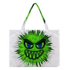 Monster Green Evil Common Medium Tote Bag
