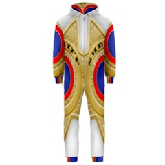 Sheriff S Star Sheriff Star Chief Hooded Jumpsuit (Men)