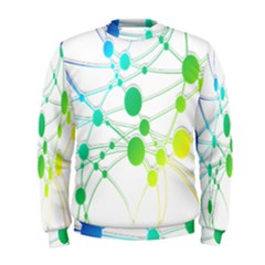 Network Connection Structure Knot Men s Sweatshirt