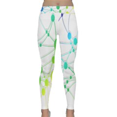 Network Connection Structure Knot Classic Yoga Leggings