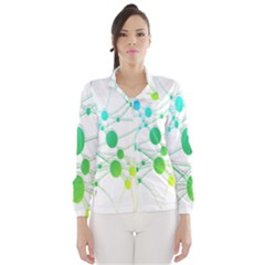 Network Connection Structure Knot Wind Breaker (Women)