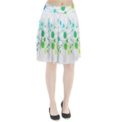 Network Connection Structure Knot Pleated Skirt
