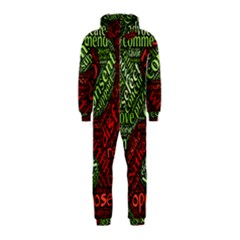 Tao Duality Binary Opposites Hooded Jumpsuit (Kids)