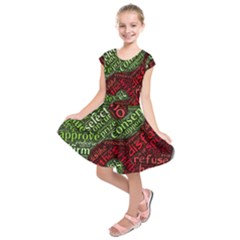 Tao Duality Binary Opposites Kids  Short Sleeve Dress