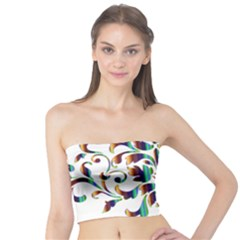 Damask Decorative Ornamental Tube Top