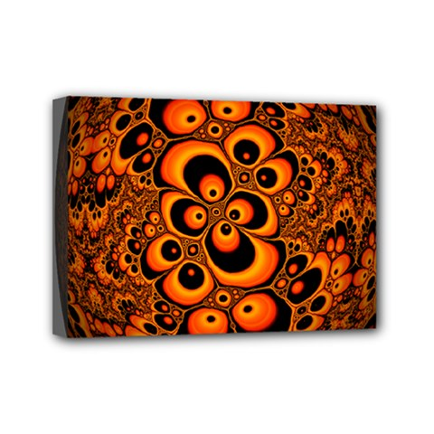 Fractals Ball About Abstract Mini Canvas 7  x 5