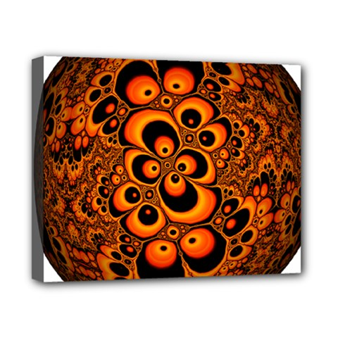 Fractals Ball About Abstract Canvas 10  x 8