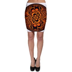 Fractals Ball About Abstract Bodycon Skirt