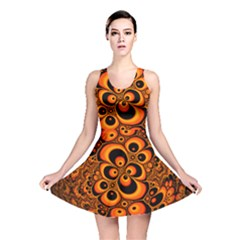 Fractals Ball About Abstract Reversible Skater Dress