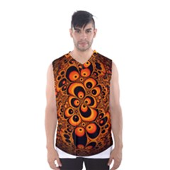 Fractals Ball About Abstract Men s Basketball Tank Top