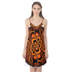 Fractals Ball About Abstract Camis Nightgown