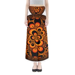 Fractals Ball About Abstract Maxi Skirts