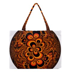 Fractals Ball About Abstract Medium Tote Bag