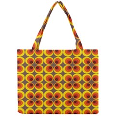 Seventies Hippie Psychedelic Circle Mini Tote Bag