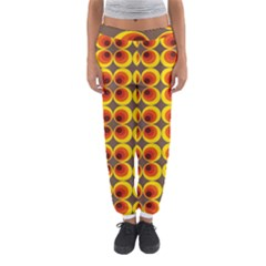 Seventies Hippie Psychedelic Circle Women s Jogger Sweatpants
