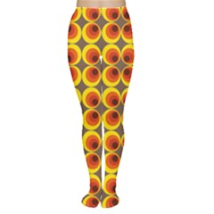 Seventies Hippie Psychedelic Circle Women s Tights