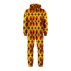 Seventies Hippie Psychedelic Circle Hooded Jumpsuit (Kids)