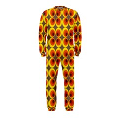 Seventies Hippie Psychedelic Circle OnePiece Jumpsuit (Kids)