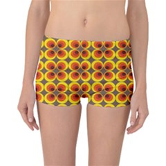 Seventies Hippie Psychedelic Circle Reversible Bikini Bottoms