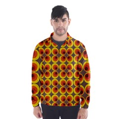 Seventies Hippie Psychedelic Circle Wind Breaker (men)
