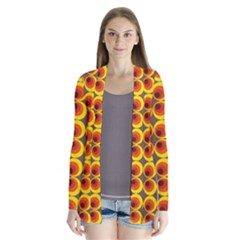 Seventies Hippie Psychedelic Circle Cardigans