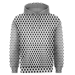 Diamond Black White Shape Abstract Men s Pullover Hoodie