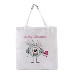 Valentine Day Poster Grocery Tote Bag