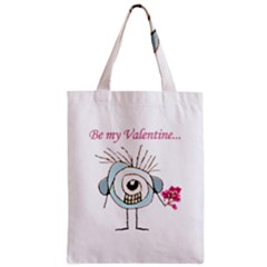 Valentine Day Poster Zipper Classic Tote Bag