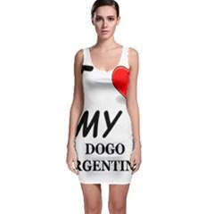 Dogo Love Sleeveless Bodycon Dress