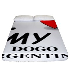 Dogo Love Fitted Sheet (King Size)