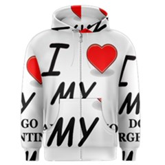 Dogo Love Men s Zipper Hoodie