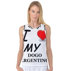 Dogo Love Women s Basketball Tank Top