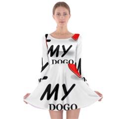 Dogo Love Long Sleeve Skater Dress