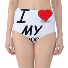 Dogo Love High-Waist Bikini Bottoms