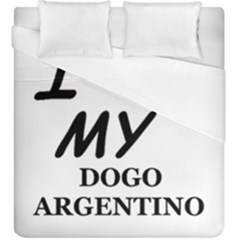 Dogo Love Duvet Cover (King Size)