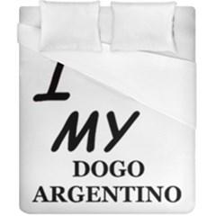 Dogo Love Duvet Cover (California King Size)