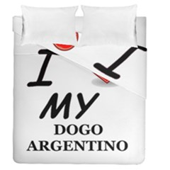 Dogo Love Duvet Cover Double Side (Queen Size)