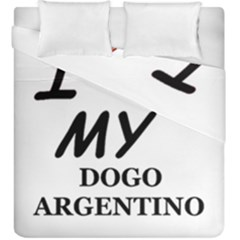 Dogo Love Duvet Cover Double Side (King Size)