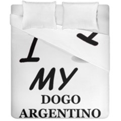 Dogo Love Duvet Cover Double Side (California King Size)