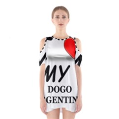 Dogo Love Shoulder Cutout One Piece