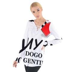 Dogo Love Women s Tie Up Tee