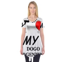 Dogo Love Short Sleeve Tunic
