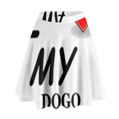 Dogo Love High Waist Skirt