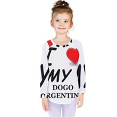 Dogo Love Kids  Long Sleeve Tee