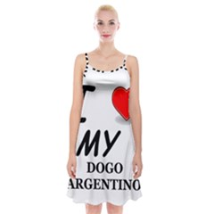 Dogo Love Spaghetti Strap Velvet Dress