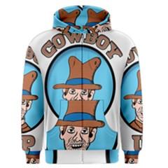 Cowboy Up Men s Zipper Hoodie